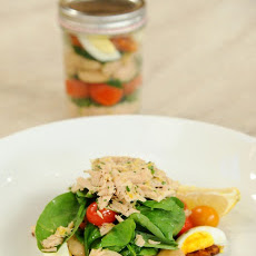 Tuna Nicoise Salad Jars