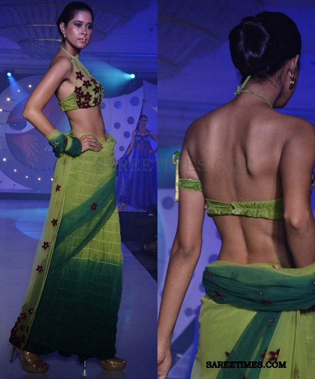 [model_green_saree_sndt_fashionshow4.jpg]