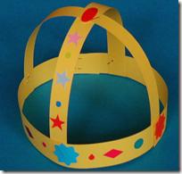corona para disfraz rey medieval