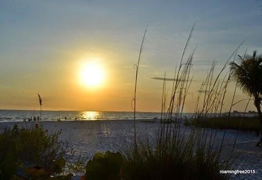 Ft. Myers Beach, near sunset