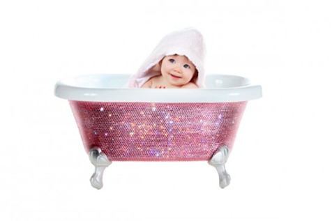 diamond-baby-bath-tub -by lori gardner