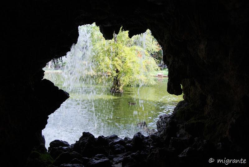 estanque palacio de cristal - parque del retiro - madrid