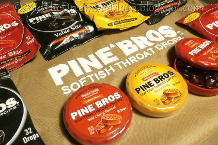 Pine Bros. Softish Throat Drops Received from Tomoson