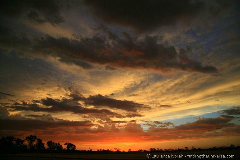 Outback sunset - Western Australia - Australia