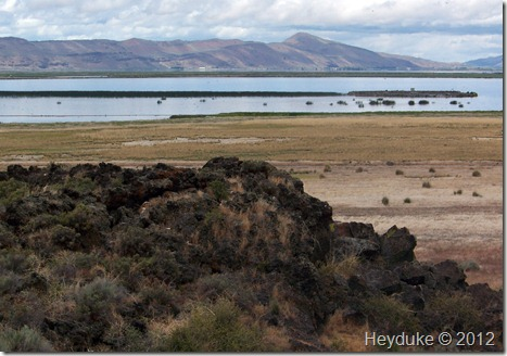 tule lake and the lava beds