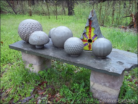 Creative Passage Cement Garden Balls
