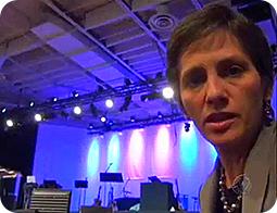 Heloísa Villela: De correspondente internacional á defensora dos interesses de Edir  (Foto: Reprodução de TV)
