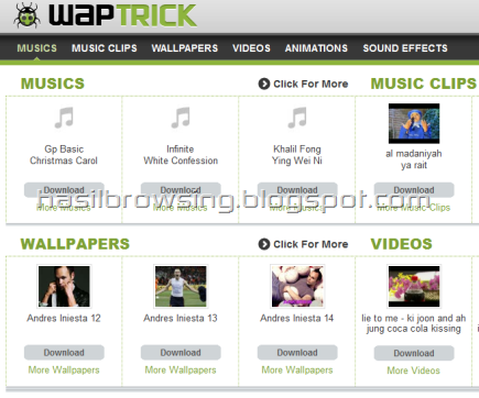 Waptrick screenshot