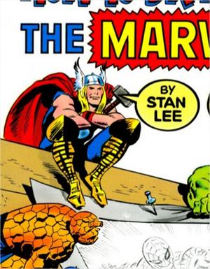 Libro para aprender a dibujar comics como Stan Lee