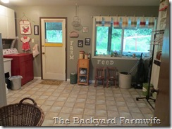 laundry room makeover - The Backyard Farmwife