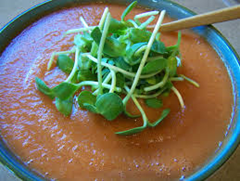 raw pear soup