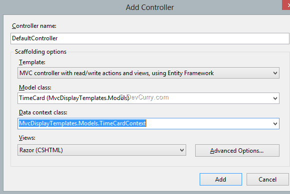 default-controller