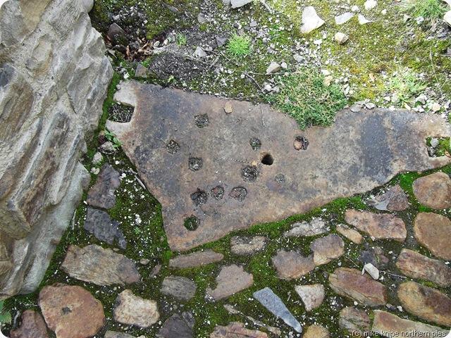 rock drill holes