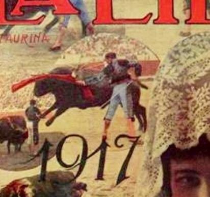 1917-04-09 (Portada de la Lidia)
