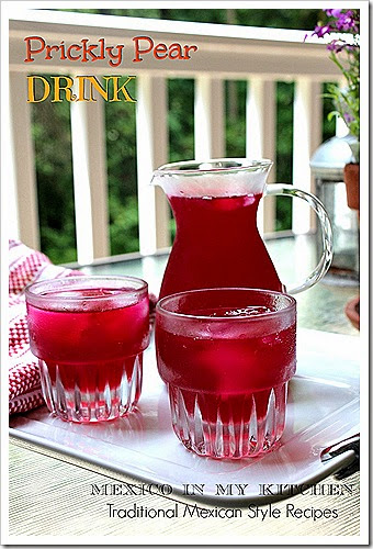 Prickly Pear Drink | Agua de Tuna