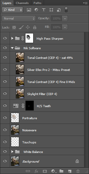 Photoshop CS6 Layers