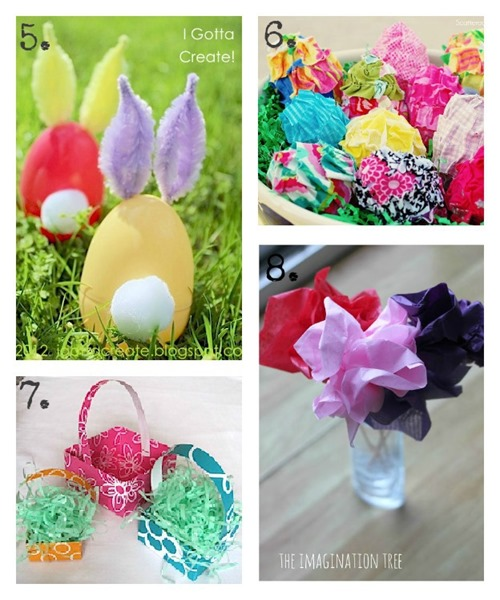 DIY Kids Easter Crafts at ucreatewithkids.com