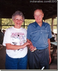 Bernie Niehaus and daughter, Pat Niehaus Cracraft