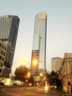 eureka tower melbourne office