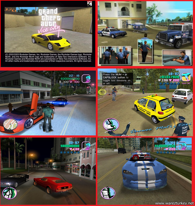 GTA Vice City Modern T�rk�e Full Tek Link indir