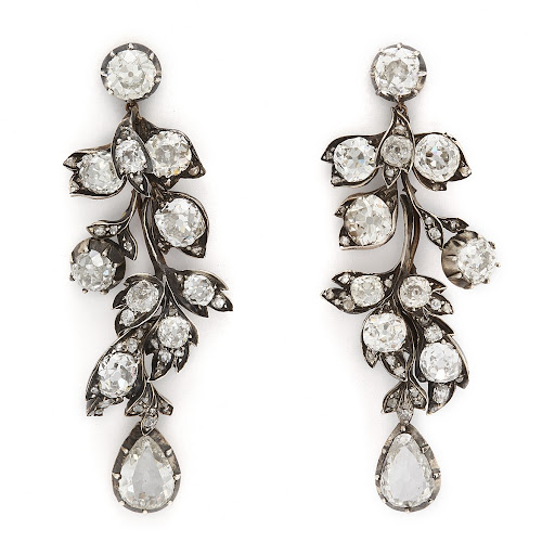 Mid-Victorian era earrings from A La Vieille Ruisse—hey, a girl can dream! (alvr.com)