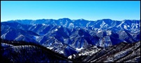 Panorama sulla Valle del Senio
