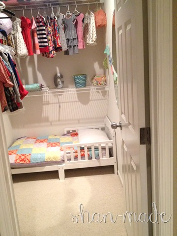Kids Room in Closet