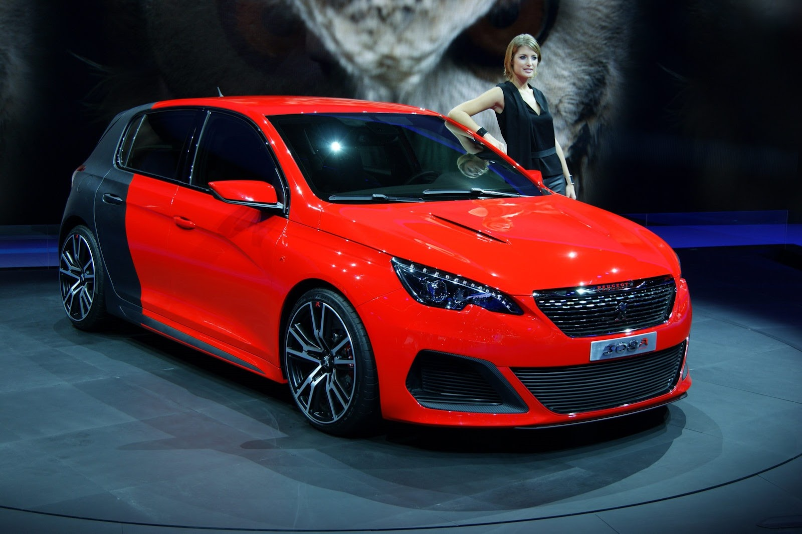 2014 peugeot 308 r konsept 266 hp g retiyor. Black Bedroom Furniture Sets. Home Design Ideas