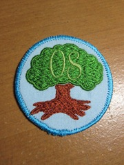 Oak Scouts Badge Custom Embroidery