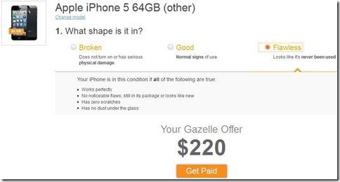 Valore iPhone usato-Gazelle