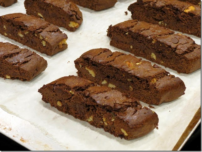 Brownie Biscotti