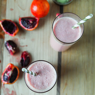 Creamy Blood Orange Tropical Smoothie