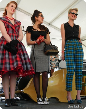 Fifties Fair Best Dressed Female Trio