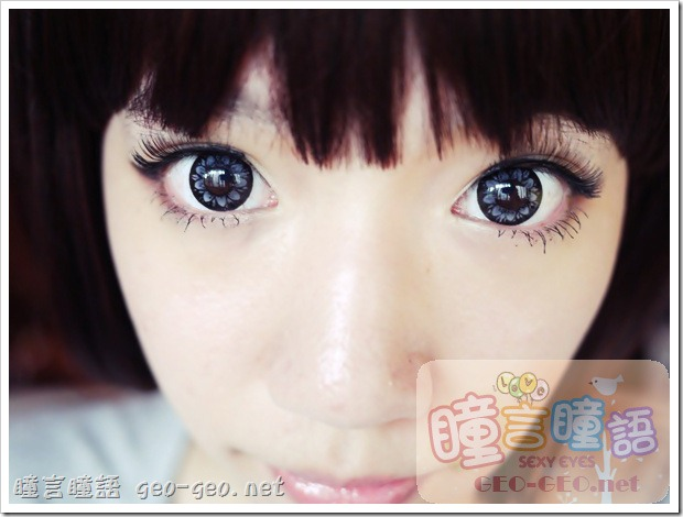 日本HANAKO假髮-【OSS-01】角色扮演動漫COSPLAY彩色短髮♥GEO隱形眼鏡-WT-C25可可愛美人灰