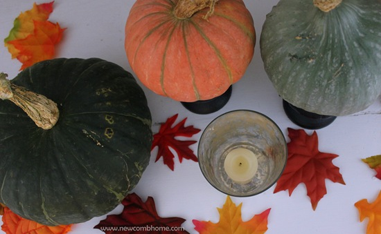 pumpkin-mantel