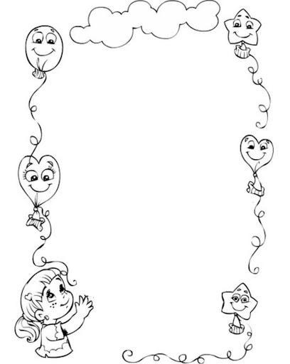 Laminas de bordes en blanco y negro para enmarcar tus dibujos - Enmarcar sin marco ...