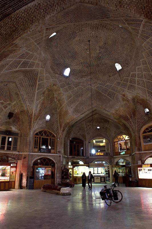 Vechiul bazar din Tabriz.