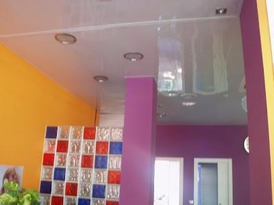 Falsos techos de aluminio Aranda