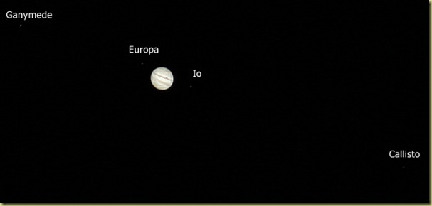 13 November 2011 Jupiter and Moons