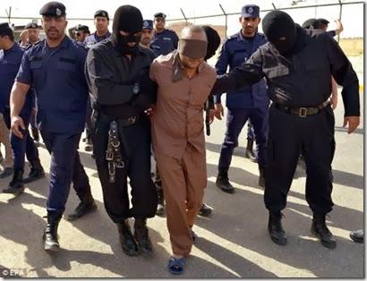 saat terakhir perogol dan pembunuh sebelum digantung