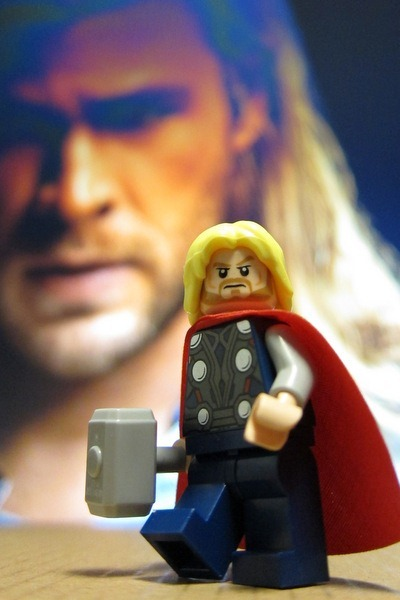 Thor Avengers Minifig Lego