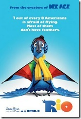 Circuito MIS de Cinema: Rio - cartaz do filme