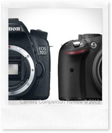 Canon 70D vs Nikon D5200