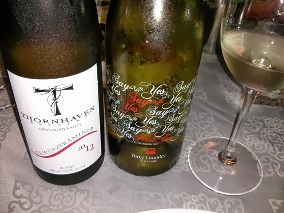 Thornhaven Gewurztraminer & Dirty Laundry Pinot Gris
