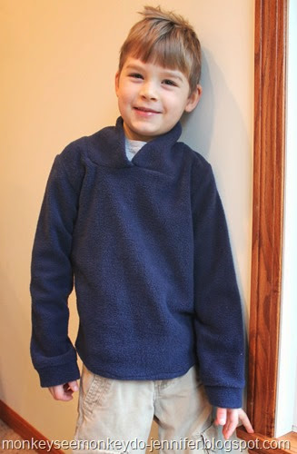 fleece sweatshirt with Elbow Patches