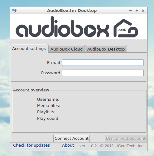 AudioBox client Linux