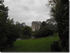 Sizergh Castle from garden walk