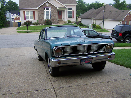 1967 ford falcon sport coupe