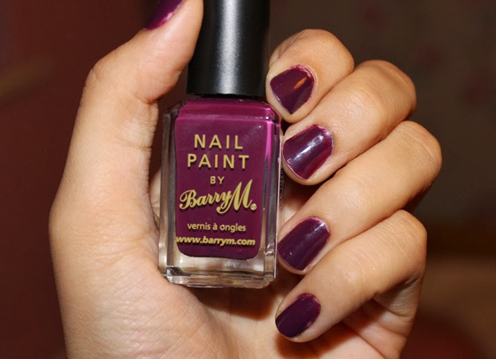 barry m berry cosmo review swatch nail paint polish