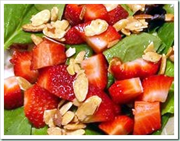 almond-strawberries